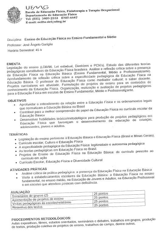 Ensino de Educação Física no Ensino Fundamental e Médio 0220d740a22e8