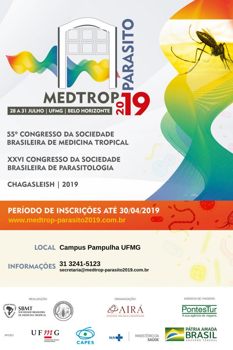 Resultado de imagem para MEDTROP-PARASITO 2019